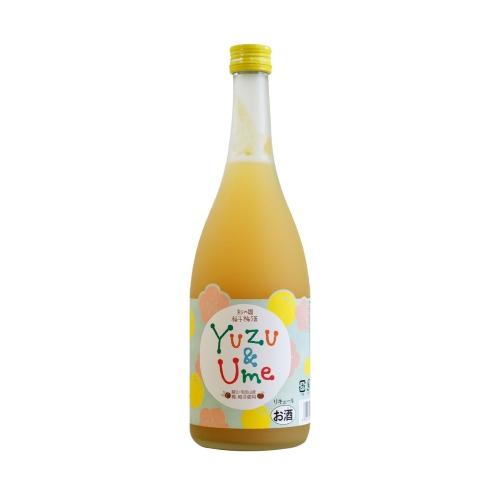 麻原酒造 柚子梅酒
