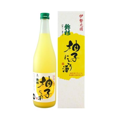鉾杉柚子果實酒