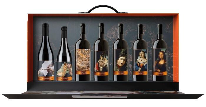 米開朗基羅創世紀精緻手提禮盒